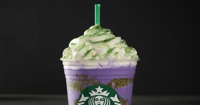 Witch's Brew Frappuccino de Starbucks