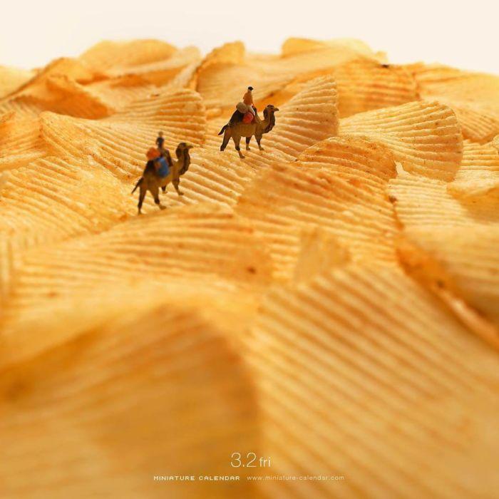 Arte en miniatura por Tatsuya Tanaka (14)