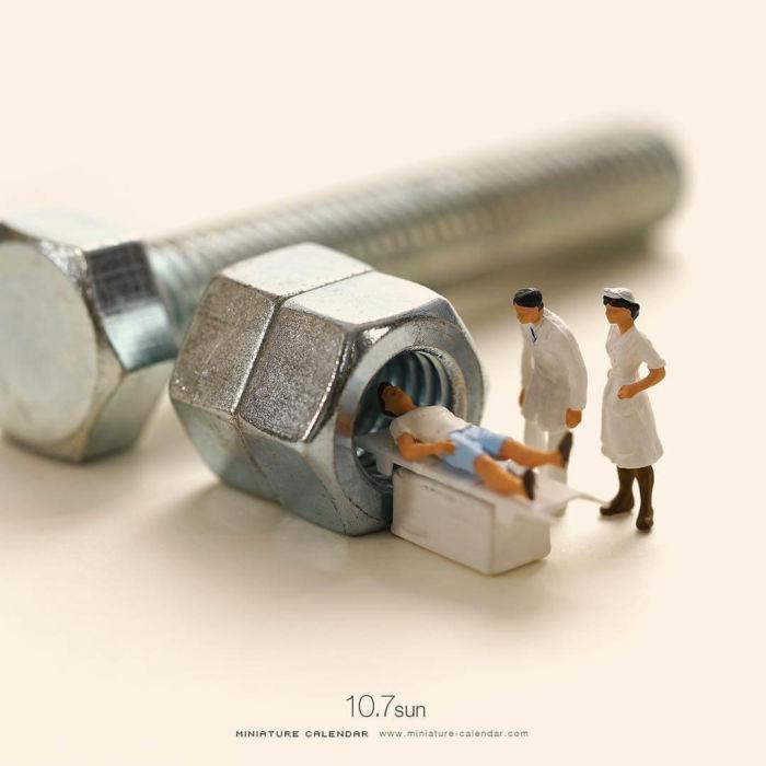 Arte en miniatura por Tatsuya Tanaka (19)