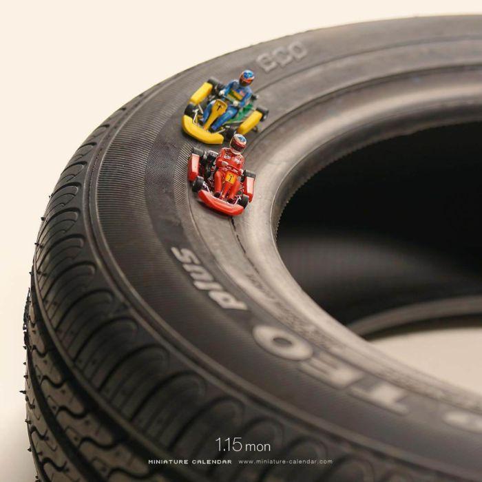 Arte en miniatura por Tatsuya Tanaka (9)