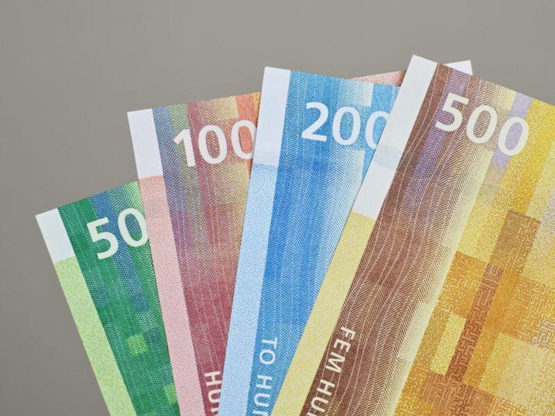 Billetes noruega (4)