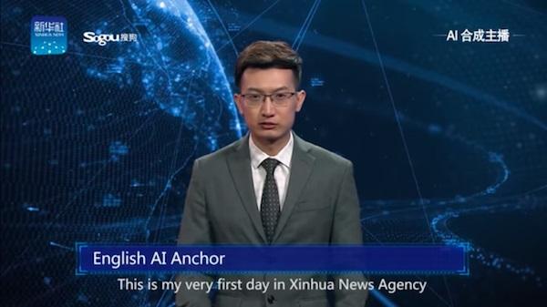 IA debuta como protagonista de un noticiero en China