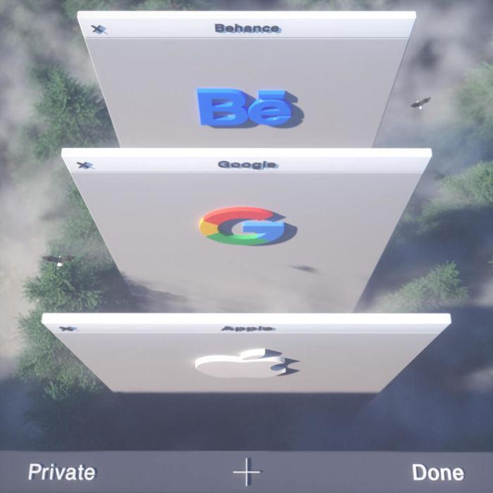 Safari UI