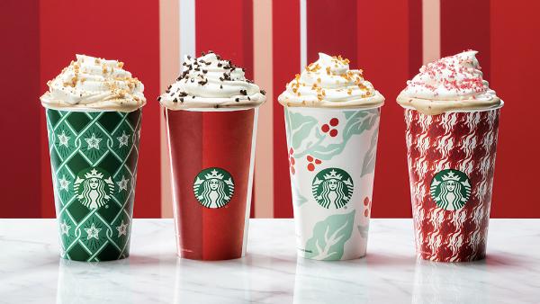 diseños de vasos para la navidad 2018 de Starbucks