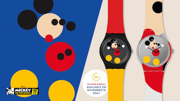Swatch reimagina a 'Mickey Mouse' por sus 90 años