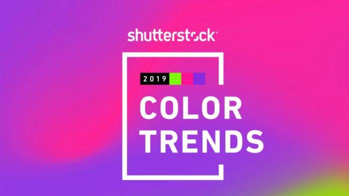 Tendencias de color para este 2019 según Shutterstock
