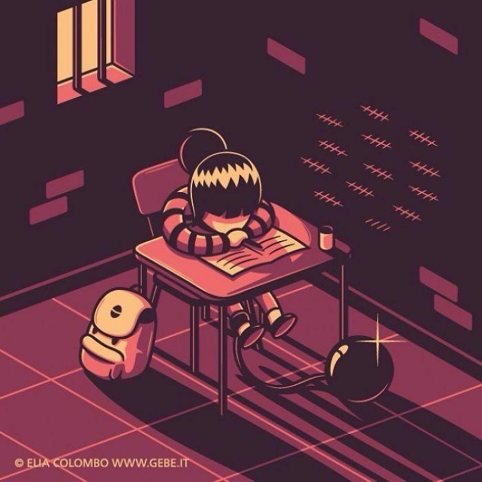 ilustraciones con significados ocultos (15)