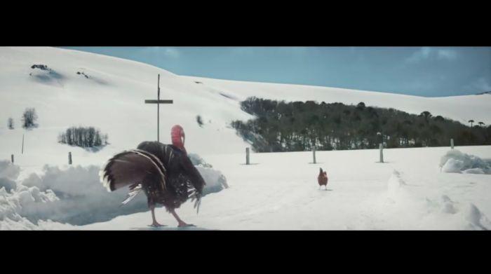 KFC enfrenta a un pavo y un pollo