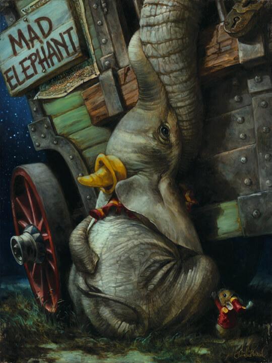 pinturas al oleo de personajes de Disney (2)