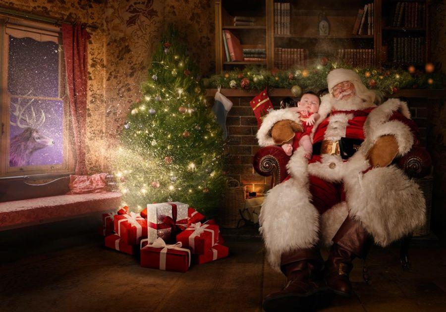 navidad a niños enfermos