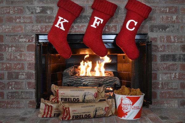 Troncos perfumados de KFC