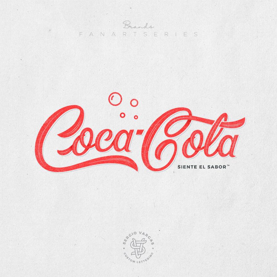 Diseños de logos con lettering por Sergio Vargas