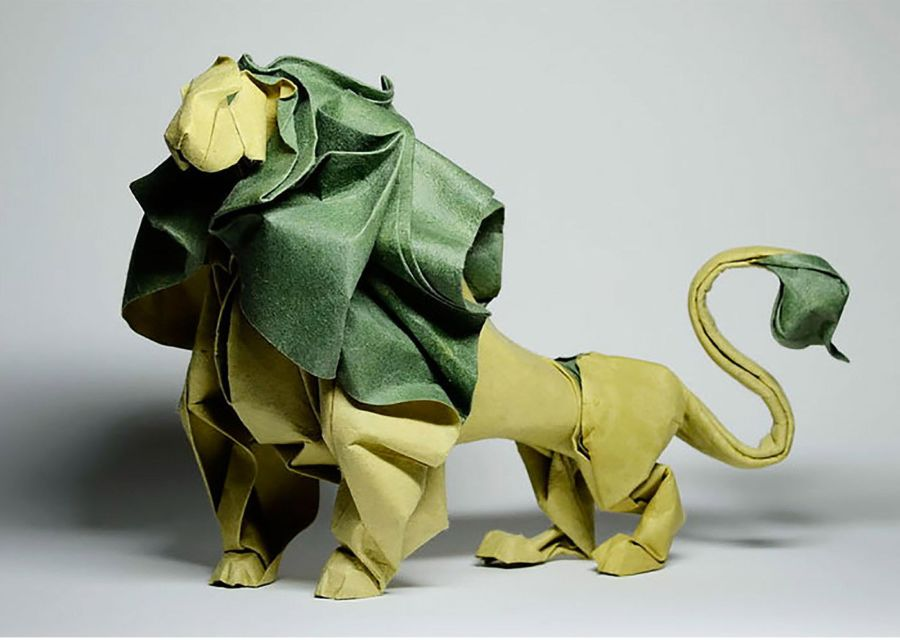 Diseños de animales en origami
