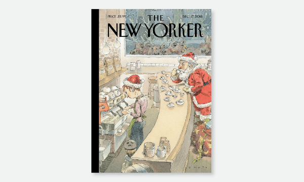 portada navideña de The New Yorker