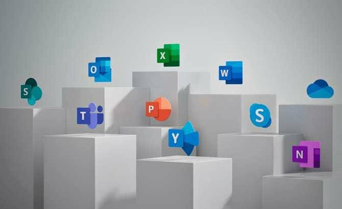 Nuevo diseño de los iconos de Office