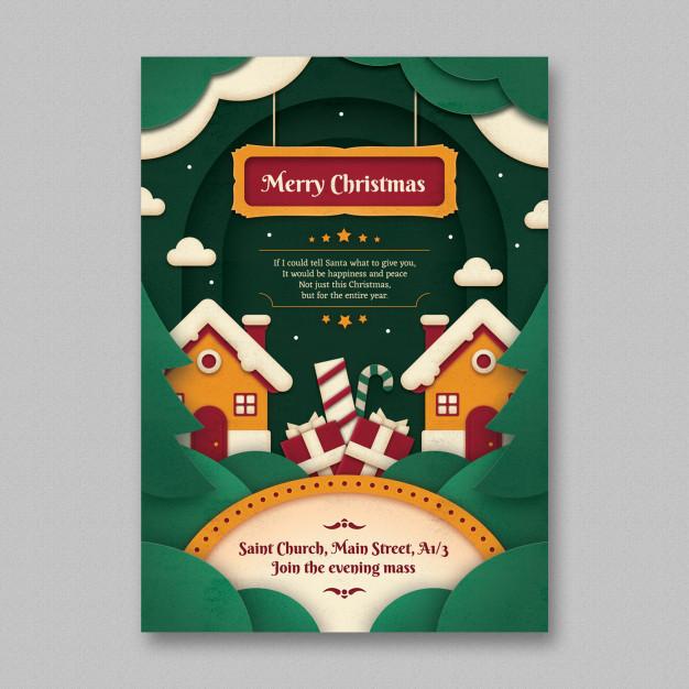 tarjetas navideñas para editar y descargar