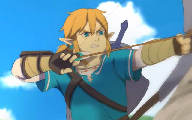 Caricatura de Zelda