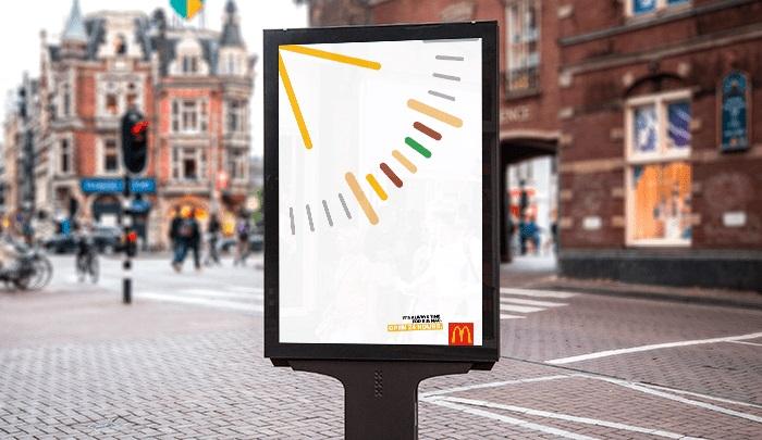campaña gráfica de McDonalds
