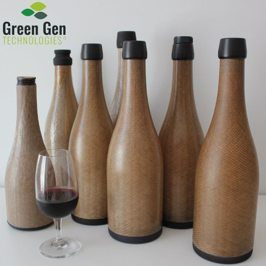 diseño de botella ecológica