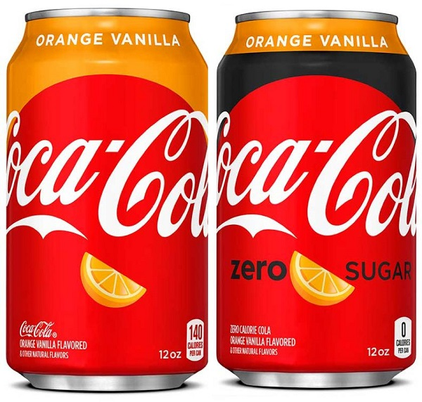 Coca-Cola Orange-Vainilla