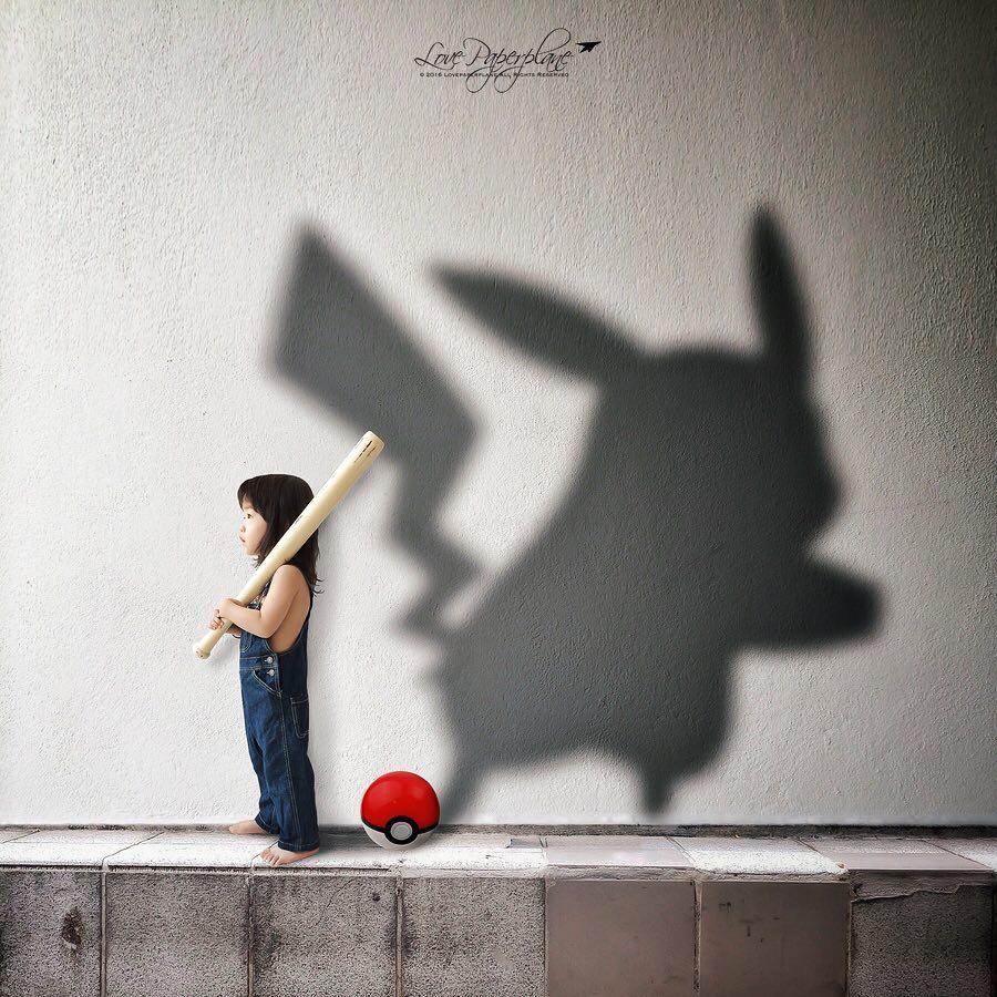 Fotógrafa recrea la imaginación de su hija en estas fotografías