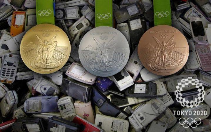 Medallas sustentables de Tokio 2020