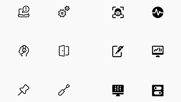 iconos simplificados para descargar gratis