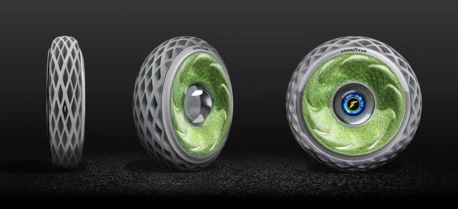diseño de neumático sustentable