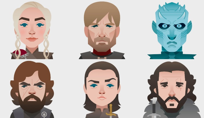 Emojis Game of Thrones