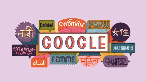 Doodle del día internacional de la mujer
