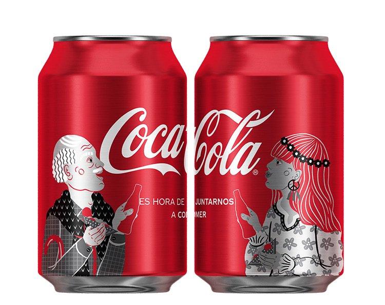 Nuevos diseños de latas Coca-Cola