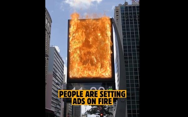 Burger King invita a quemar anuncios de McDonald's