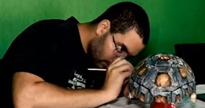 Caparazón 3D para tortuga