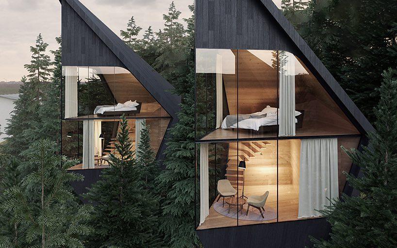 Diseño de casa de árbol