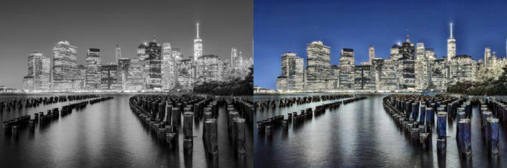 IA para colorear fotografías en blanco y negro