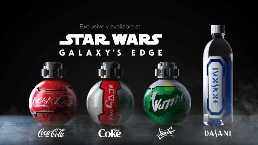 diseños de botellas inspirados en Star Wars