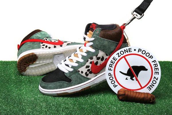 zapatillas Nike para amantes de los perros