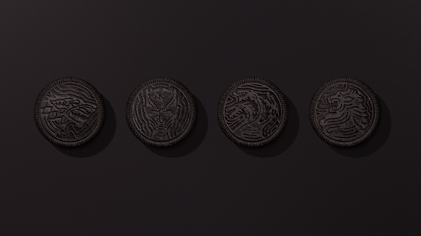 Oreo recrea el intro de Game Of Thrones