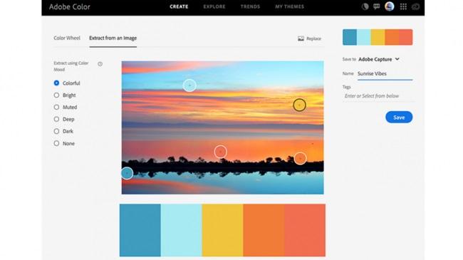 Nuevas herramientas de Adobe Color