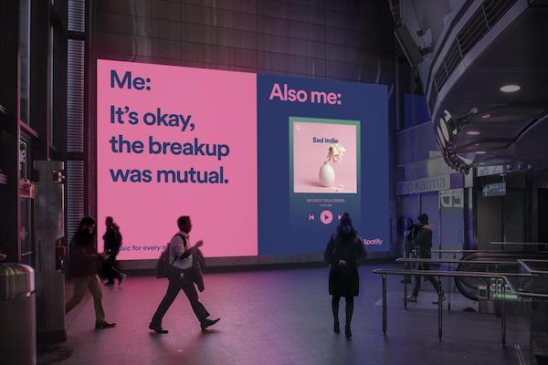Campaña con memes de Spotify