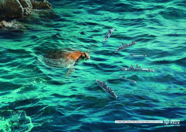 Campaña de conciencia sobre efecto del plástico en los mares
