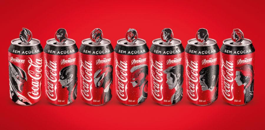 Coca-Cola Avengers