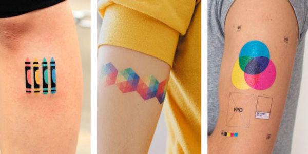 Ejemplos de tatuajes para diseñadores