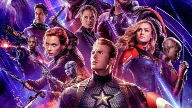 re-lanzamiento de Avengers: Endgame
