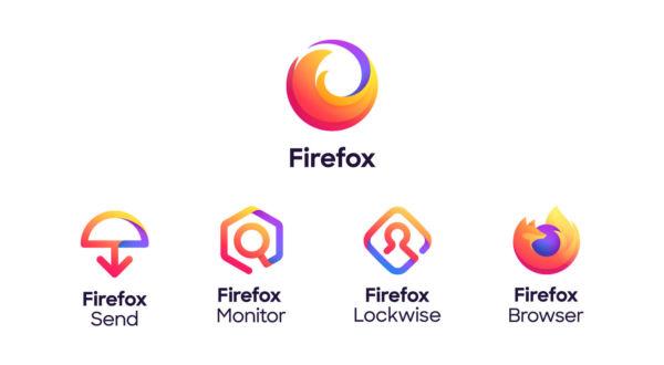 Nuevos diseños de logos de Mozilla