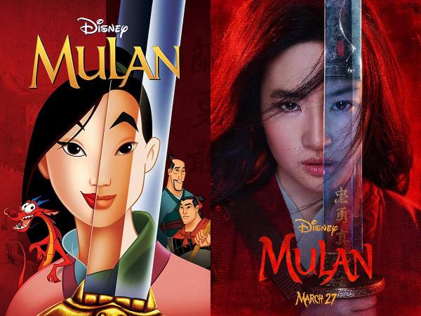 poster y primer trailer de Mulan