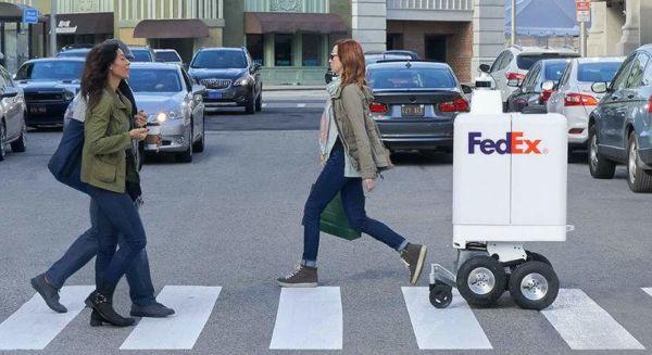 robot repartidor de FedEx
