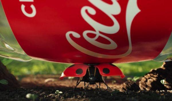 Anuncio reciclaje de Coca-Cola