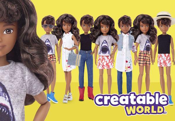 Muñeca de genero neutral de Mattel