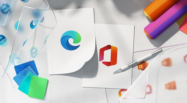 diseño de logo de Windows